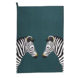 Zebra Statement Tea Towel