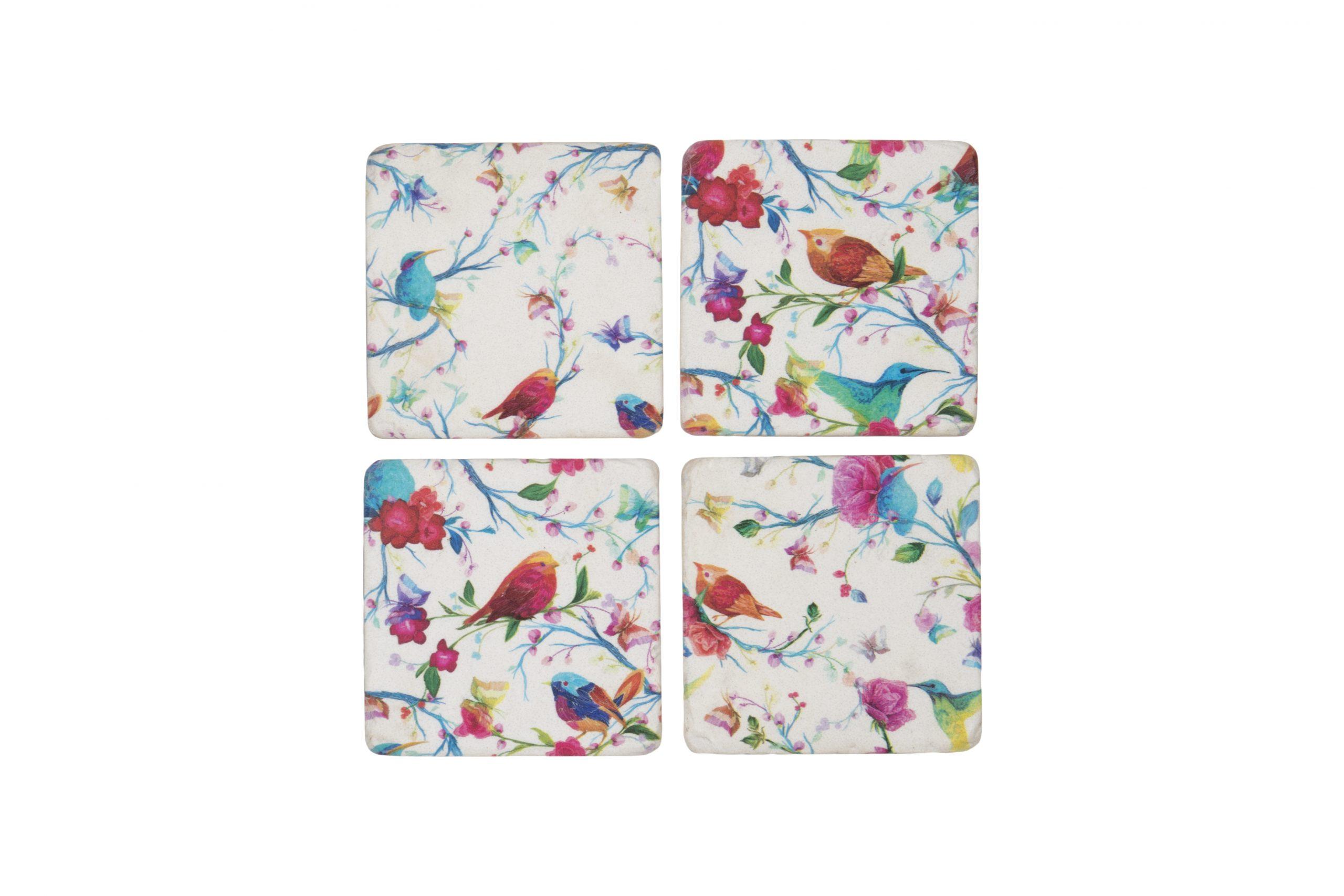 Tropical Bird Coasters