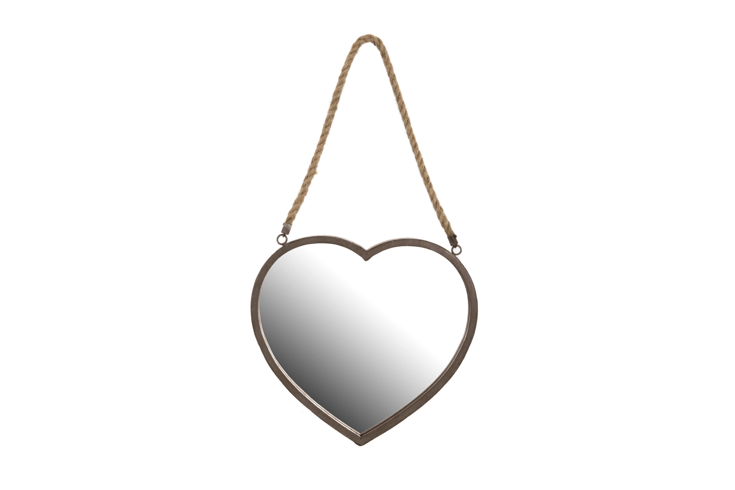Heart Shape Mirror (Collection Only)