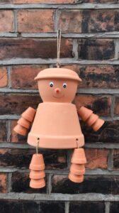 Terracotta Pot Man