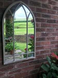 Dorchester Indoor/Outdoor Mirror (Collection Only)