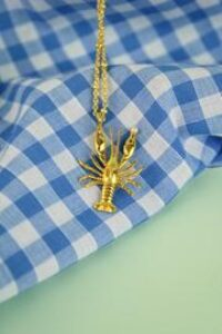 Lobster & Pearl Necklace