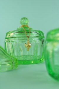 Cactus & Pearl Necklace
