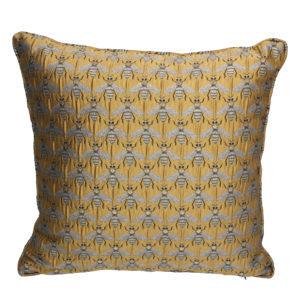 Gisela Graham Gold Bee Pillow